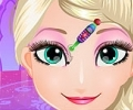 Elsa Face Painting