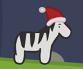 James The Christmas Zebra