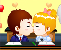 Library Kiss Game