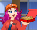 Pizza Girl Dress Up